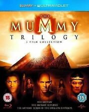 Blu-ray Movie The Mummy Trilogy Region a B