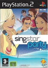 SINGSTAR PARTY for Playstation 2 PS2 - PAL