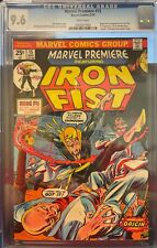 MARVEL PREMIERE #15 - CGC 9.6 NM+ - 1st App of Iron Fist  - WHITE Pages