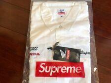 Supreme Honda Fox Racing Work Shirt White X-Large IN-HAND