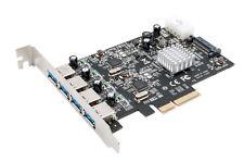 ExSys EX-12004 - PCI-Express Karte (x4), USB 3.1 Gen2 mit 4x A-Ports