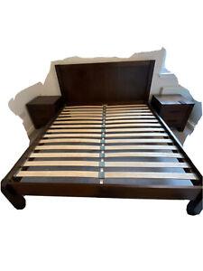 Mahogany bedroom furniture set used