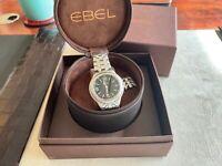 EBEL 'Type E' men's quartz watch + box