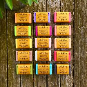 Savon de Marseille French Natural Soap with Organic Shea Butter 60g Vegetable