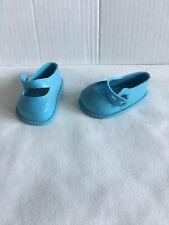 Vintage Fairyland 50's Blue 2.25� Maryjane Doll Shoes