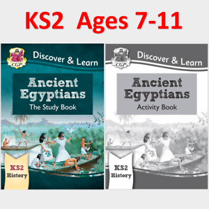 KS2 History Ancient Egyptians Study and Activity Books Ages 7-11 CGP