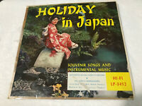 LP The Holiday in Japan Stereo HI-FI LP-3452 VINTAGE