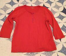 Croft&Barrow Women's Lg. Red Shirt