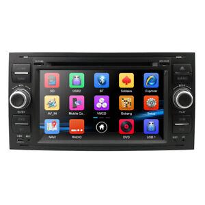 Ford Transit Mk7 Kuga Focus MK2 HeadUnit Radio GPS Sat Navi Stereo DVD Bluetooth