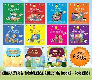 *Akhlaaq series & Childrens* Islamic Books Muslim Fun Activity Kids Ali Gator