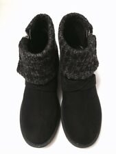 Size 3 Ladies Girls Rocket Dog Black Ankle Winter Boots Shoes. Brand New