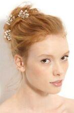 Nina ALICE Swarovski Crystal Headband Bride 3 HAIR PIN Comb Wedding Vintage NEW