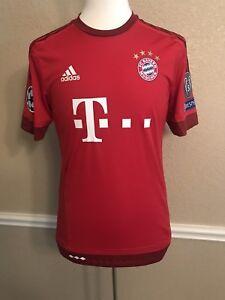 Germany Fc bayern Munich Robben 6 Player Issue Adizero Football Trikot Shirt
