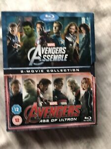 Avengers Assemble/ Age Of Ultron 2 Movie Collection Blu Ray Box Set