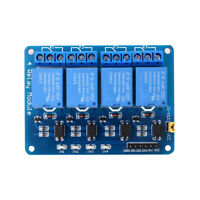 5V 4 Channel-Relay-Board-Module-Optocoupler-LED for Ard*uino PiC ARM AVR