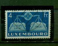 Luxemburg, Vereintes Europa Nr. 483 gestempelt