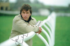 John INVERDALE Signed Autograph 12x8 Photo Horse Racing TV Presenter AFTAL COA