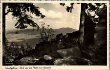 1939 Stempel Wunsiedel Kösseine Fichtelgebirge Landschaft Gesamtansicht Totale