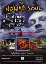 The Nomad Soul Game Eidos Dreamcast, Magazine Advert #2395