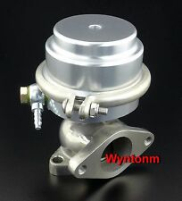 38MM External Wastegate 17 PSI Turbo Stainless Steel Dump Valve Silver C II