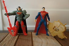 Superman - Concrete Crusher & Krypton Combat Superman x2 (New Without Tags)