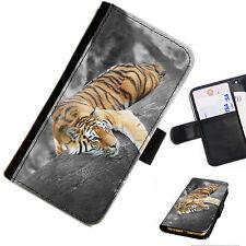 Pat25 estampado flores cartera de piel / funda libro para Teléfono Móvil Samsung Galaxy J3 (2016)