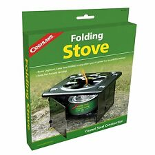 Folding stove camping backpacking emergency survival large heat cooking CO