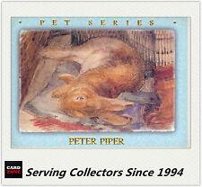 Australia (Tempo) Beatrix Potter Trading Card Pet Card PS3 Peter Piper Card