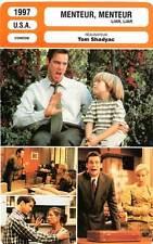 FICHE CINEMA : MENTEUR MENTEUR - Carrey,Tierney,Tilly,Shadyac 1997 Liar, Liar