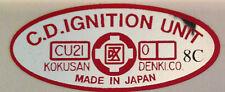 SUZUKI X7 250 GT250E GT250EN CDI IGNITION CAUTION WARNING DECAL