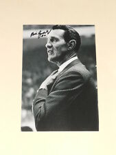 Detroit Red Wings BILL GADSBY Signed 4x6 Photo NHL HOF AUTOGRAPH 1A