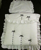 COACH BUILT PRAM BEDDING QUILT SET for Silver Cross Balmoral Kensington Spares