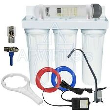"""AFW Filters 4 Stage 10"""" Drinking Water Filter with UV no bacteria!"""