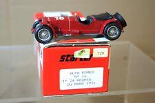 STARTER MODELS 1931 ALFA ROMEO 8C 2300 le MANS 16 ar
