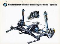 BM2098 BMW Kundendienst Bildtafel 20 1985 plate