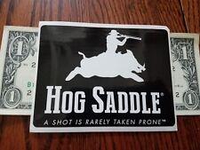 HOG Saddle authentic sticker decal