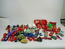 Large Job Lot Of Die Cast Metal Tanks Cars Lorries Buses Bburago Corgi Tomy Ertl