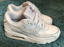 ❤ Womens Nike Air Max Size 5 Uk All White ❤