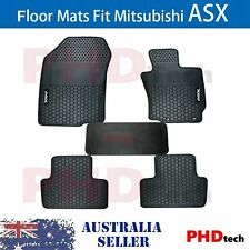MITSUBISHI ASX 2010-2019 Series XA XB Tailored All Weather Rubber Car Floor Mats
