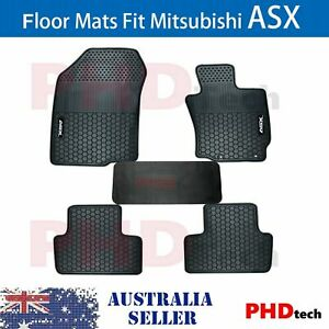 MITSUBISHI ASX 2010-2021 XA XB XC XD Tailored All Weather Rubber Car Floor Mats