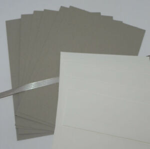 CRUMB CAKE A2 CARDSTOCK PAPER CARDS RIBBON STAMPIN UP PLUS IVORY ENVELOPES