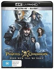 Pirates Of The Caribbean - Dead Men Tell No Tales (4K UHD Blu-ray, 2017)
