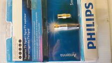 HighEnd SAT Kabel mit 2 vergoldeten F-Steckern in Top-Qualität von PHILIPS 500cm