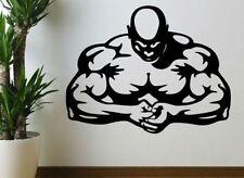 Bodybuilding Muscle Man Fitness Wandtattoo Wallpaper Wand Schmuck 57 x 74 cm