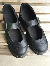 Doc Martens Womens Mary Jane Shoes Size US 6 Leather Buckle Dr. Martens