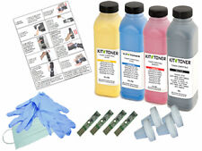 DELL 2155CDN - 4 x Kits de recharge toner compatibles Noir, Cyan, Jaune, Magent