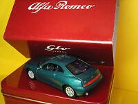 1/43 Alfa Romeo Gtv Coupe Turquoise 1995 Solido Cofanetto in Latta Tin Box