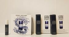 L'EAU SUPER MAJEURE D'ISSEY by Issey Miyake EDT Intense Men Spray Sample ( × 3 )
