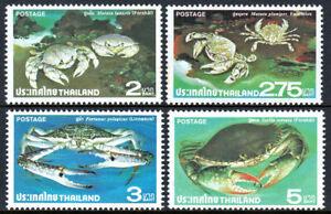 Thailand 877-880, MNH. Crabs, 1979