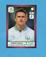 PANINI-EURO 2012-Figurina n.364- KEANE - IRLANDA -NEW-DARK BOARD
